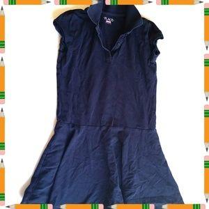 Children's Place Navy Polo Uniform Dress